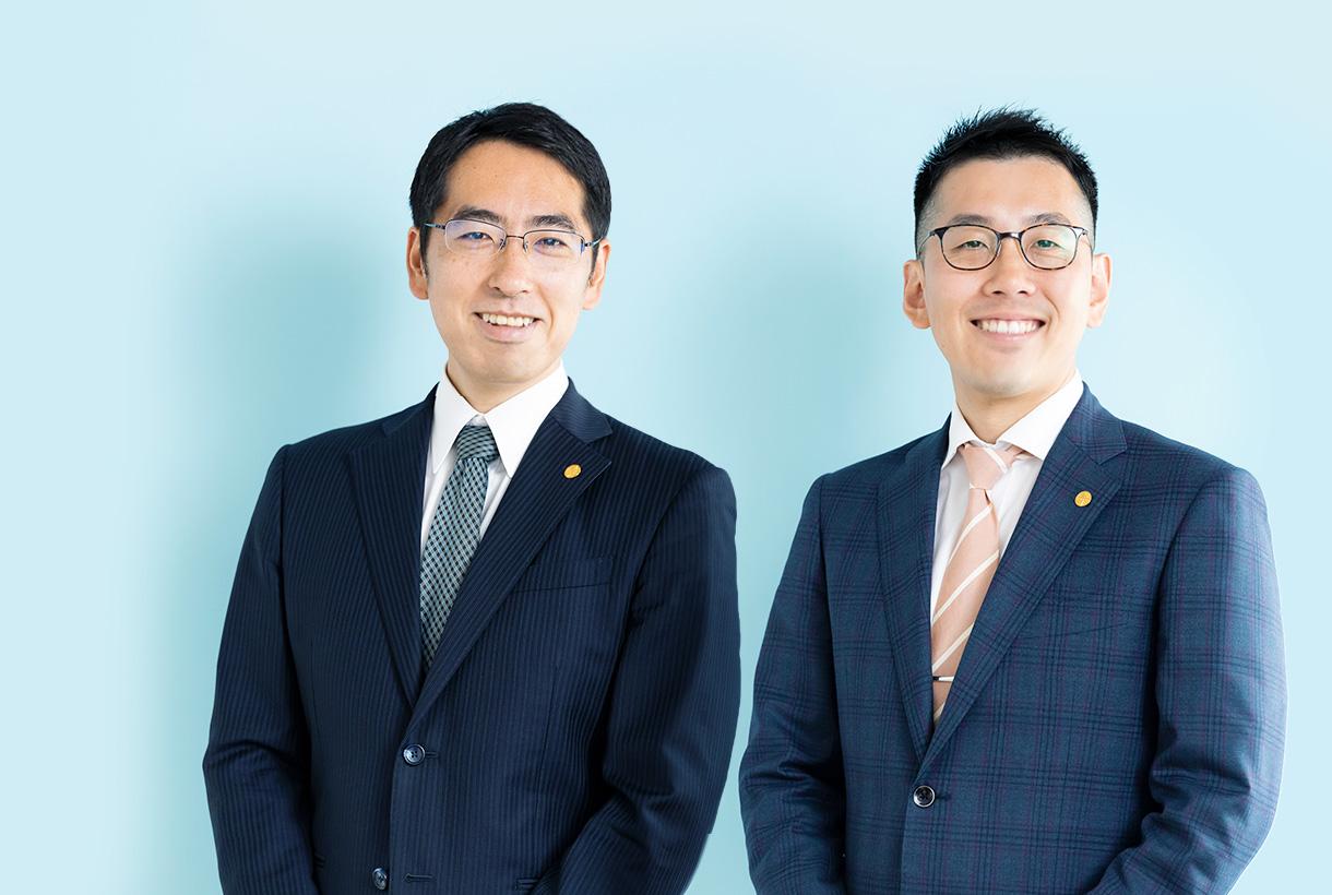 株式会社オクリビト代表2人の写真