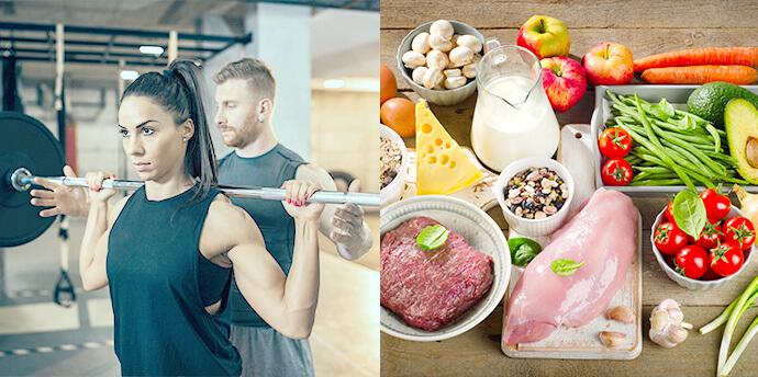 &fitのワークアウト(W)+食事(M)プランのイメージ画像